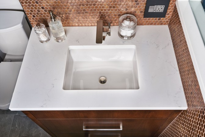 Sink remodel in Portland Oregon
