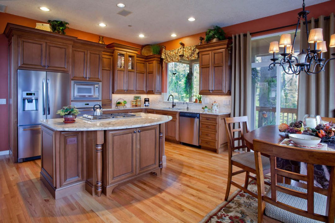 Traditional Wood Kitchen remodel