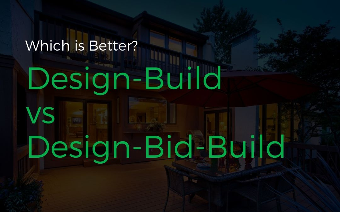 Which is better design-build vs design-bid-build