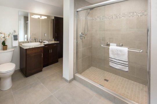 Walk in Shower Bathroom Remodel