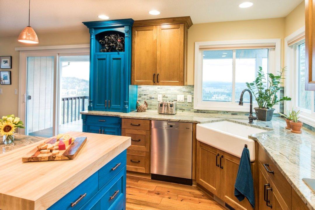 transitional kitchen style