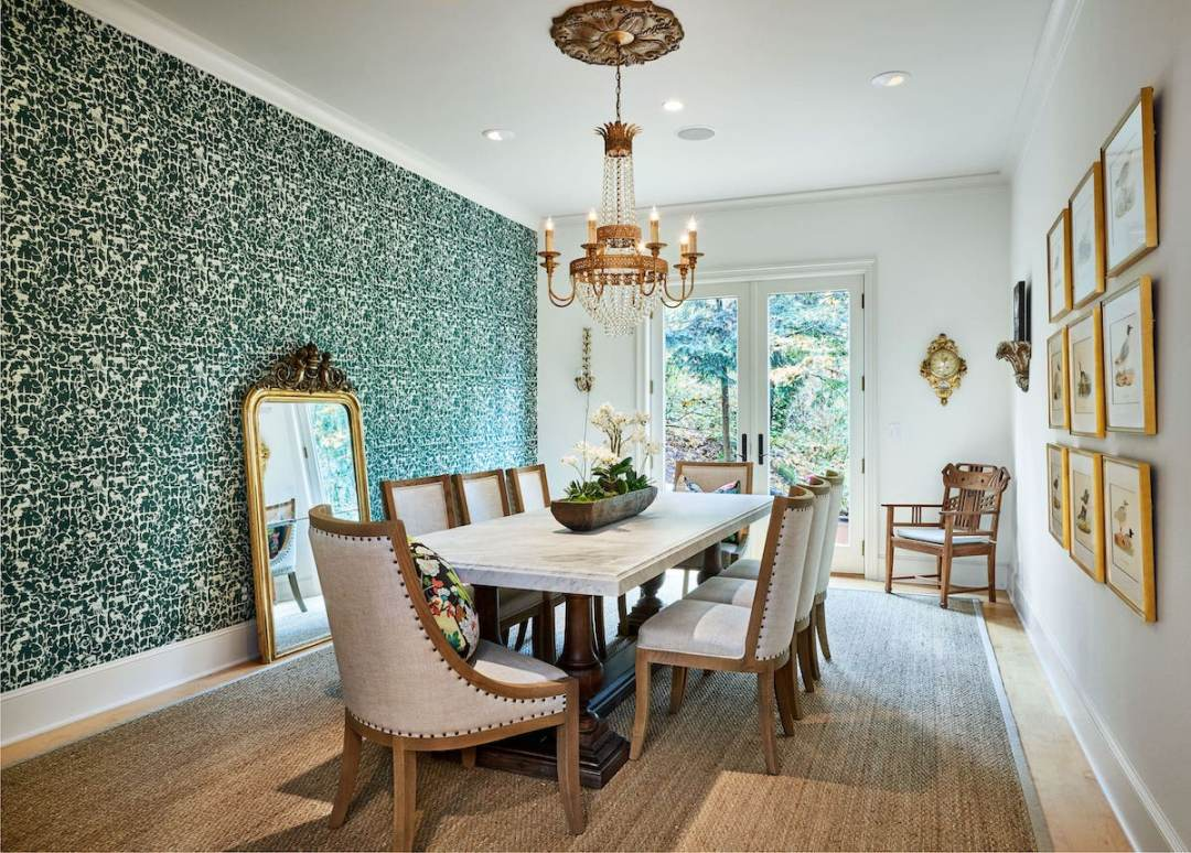 luxury dining room remodel portland