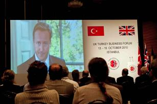 Opening of UK-Turkey Forum 2010