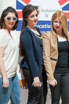 Students in Suleymaniyah