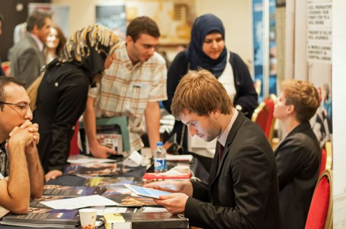 Students in Erbil meet UCL