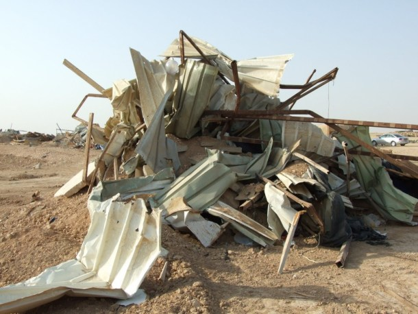 7th demolition of Al Arakib-11-22-10