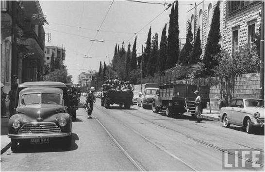 Lebanese Army on Bliss 1958