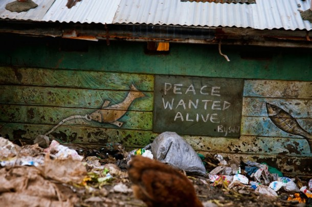 Kibera in Kenya