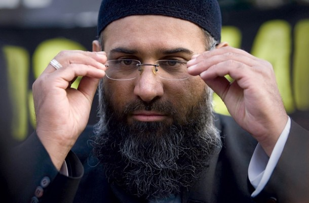 Anjem Choudary, London's most notorious defender of the Islamic State, says crucifixion and beheading are sacred requirements. (Tal Cohen/Reuters)
