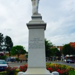 Statue - south side