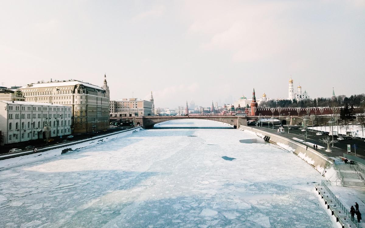 Люблю Москву в начале марта