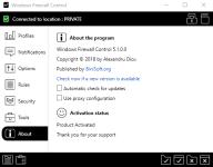 Windows Firewall Control — расширение функциональности встроенного брандмауэра