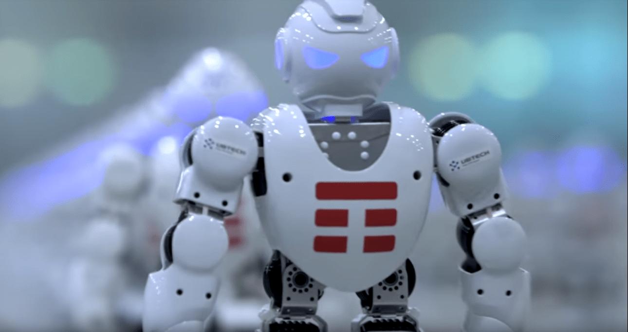 1372 танцующих робота