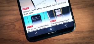 Как переместить строку меню Chrome в нижнюю часть экрана на смартфоне