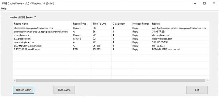 Как просмотреть DNS кэш на Windows 10