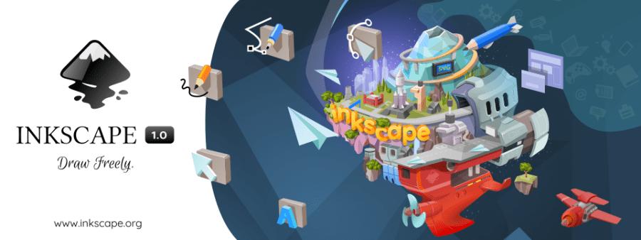 Вышел редактор векторной графики с открытым исходным кодом Inkscape 1.0
