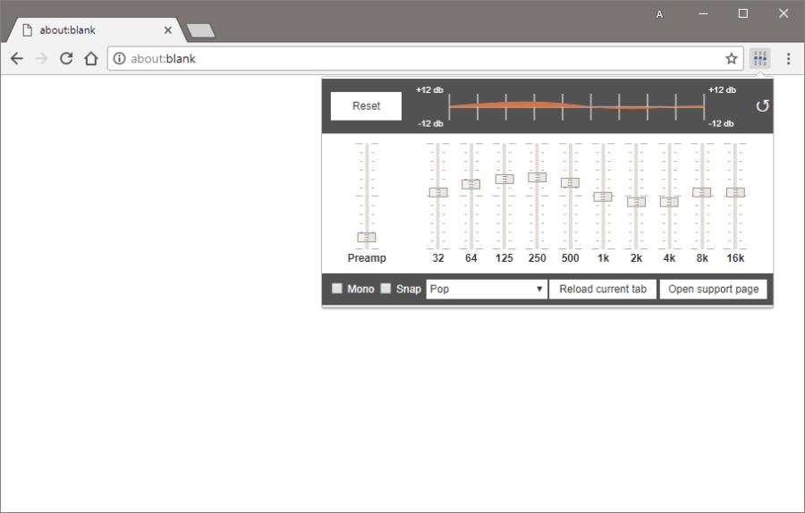 Как добавить аудио эквалайзер в Firefox, Chrome и другие браузеры