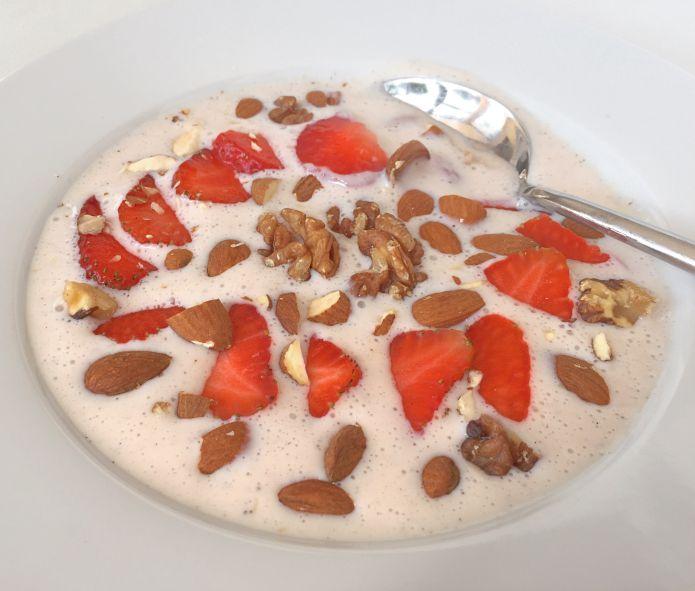 Forfriskende LCHF vanilje-