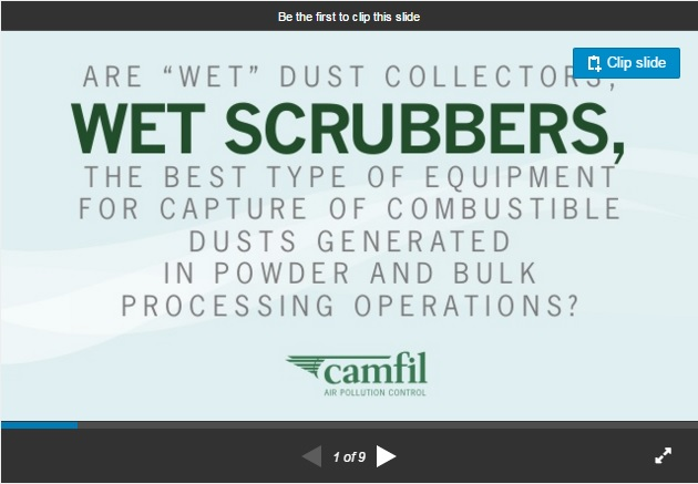 Wet scrubbers vs  dry dust collectors slide share - LEV CentralLEV