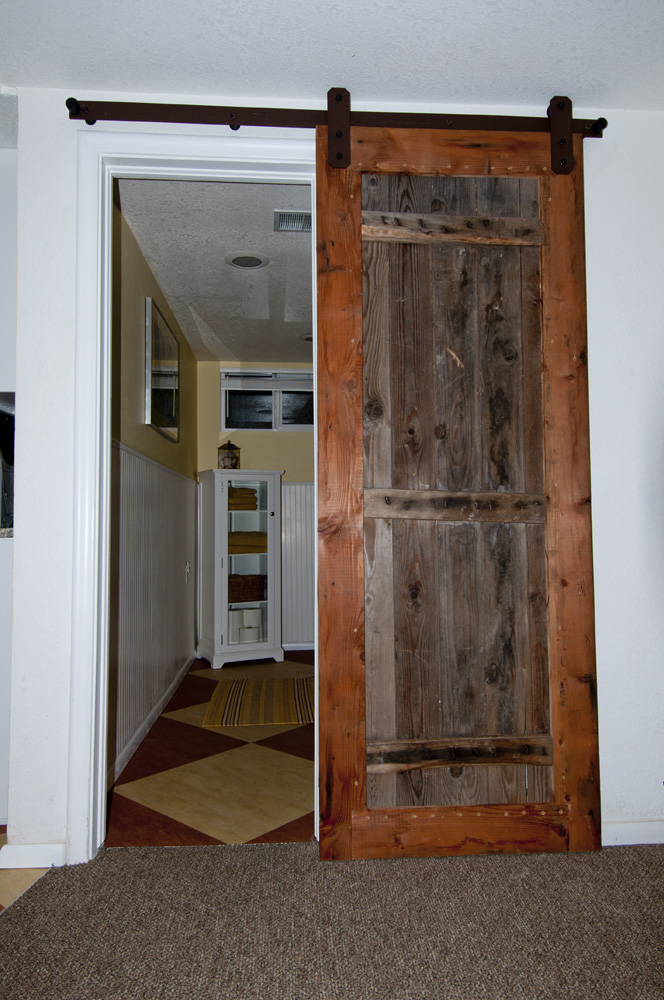 Interior Barn Door Installation