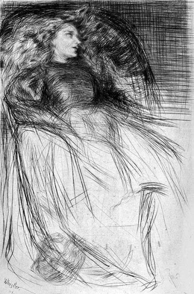 Whistler, Weary, etchings, 1863
