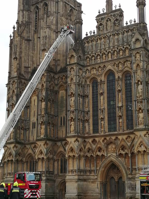 wells cathedral fire drill