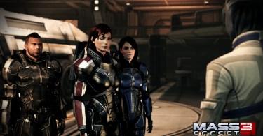 Shepard re-assembles the crew.