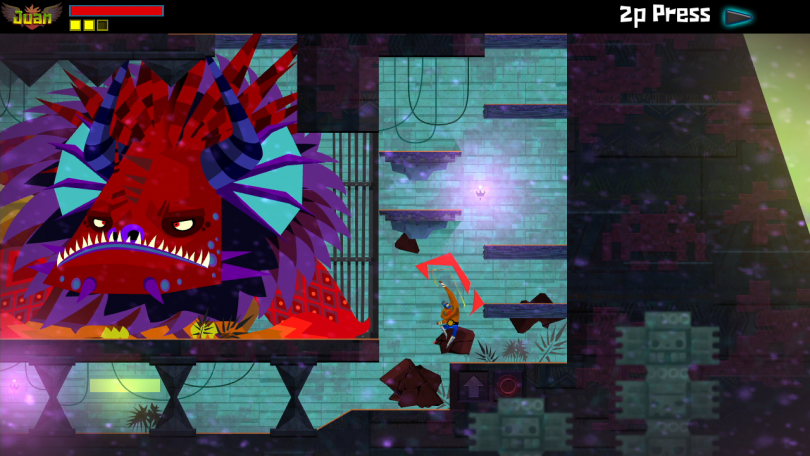 Guacamelee traversal uppercut