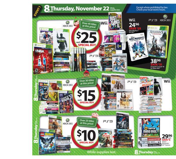Best Buy: Microsoft Xbox 360 250GB Black Friday Bundle ...