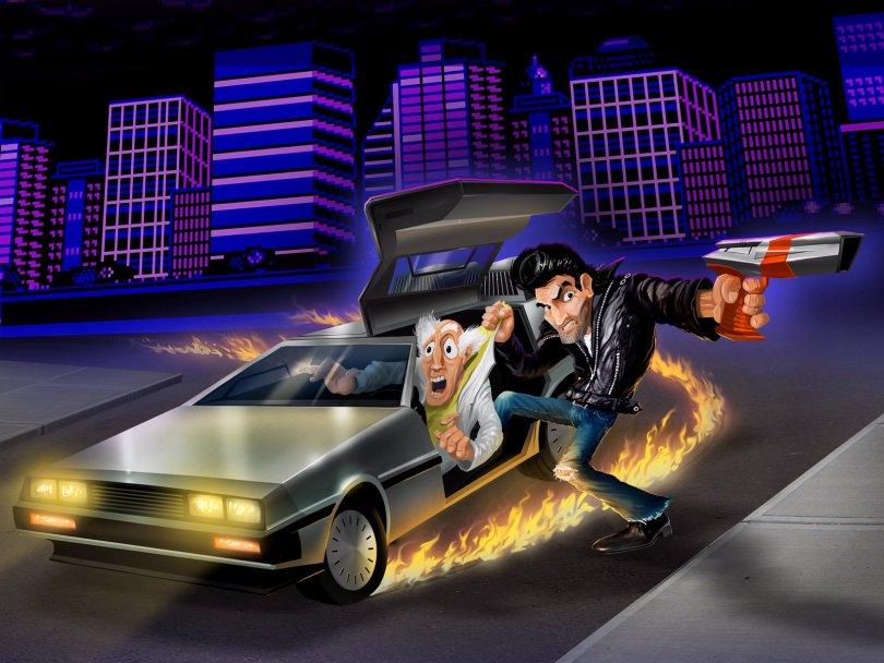 Retro City Rampage - DeLorean