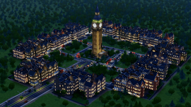 SimCity British City-Set