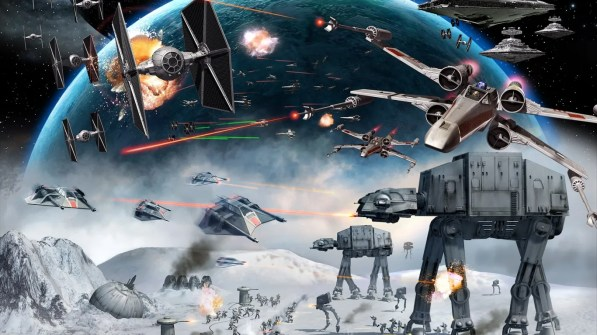 star wars battle