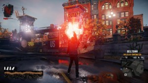 Delsin can deal out serious damage with his Cinder Missile but be careful you only have so many before you need to recharge.