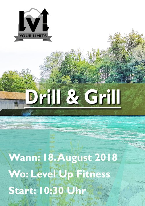 Level Up Your Limits drill and grill muri nummer 1 flyer1 entwurf def