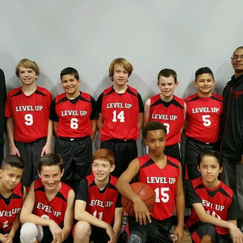 Level Up 6th grade boys basketball team 2017