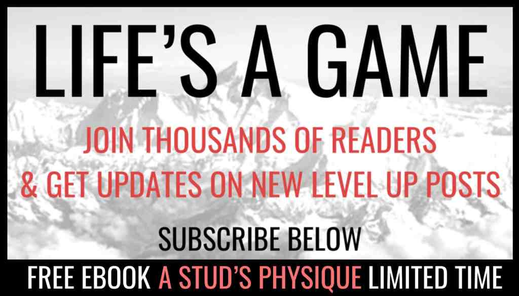 Level Up Stud Sidebar Subscribe