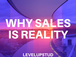 why sales is reality