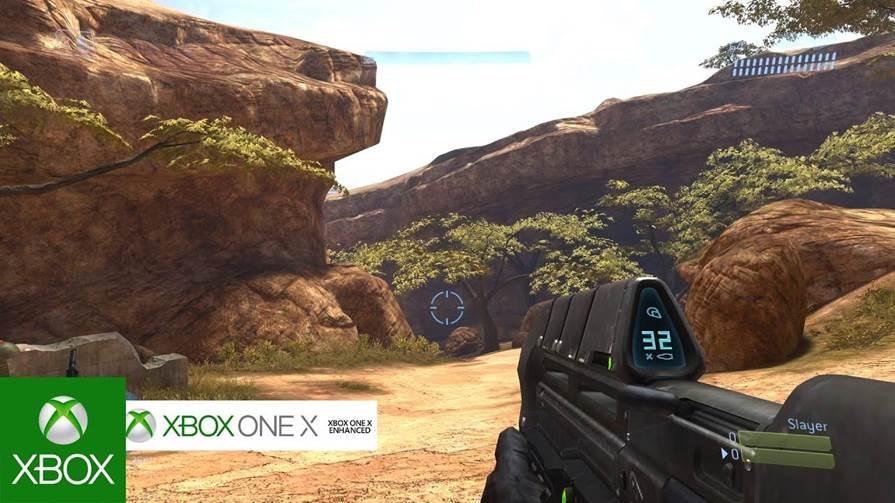 "Halo 3 (Xbox 360) ""Enhanced"" on Xbox One X"