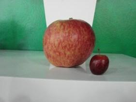 Maior e Menor maçã