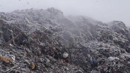полигон твердых бытовых отходов