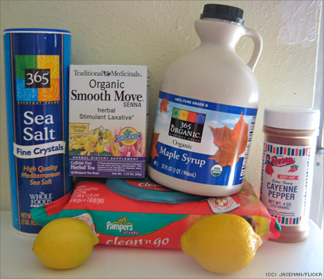 master-cleanse-supplies-including-pampers