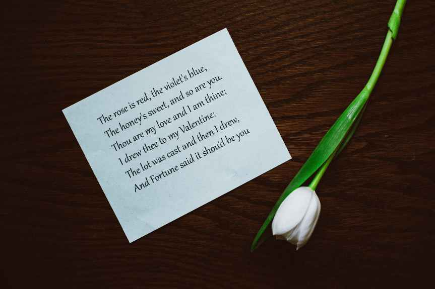 21 Valentine's Day Poems to Share with your Love   Leverage Ambition