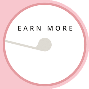 EARN MORE. The Leveraged Mama.