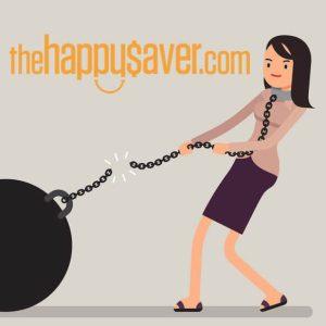 Consumer Debt Be Gone - The Happy Saver Podcast.
