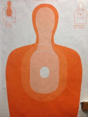 Lever Arms Marksmanship Silhouette Target