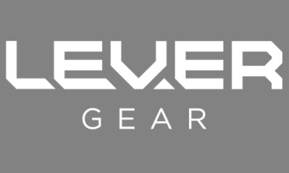 Lever Gear White Logo