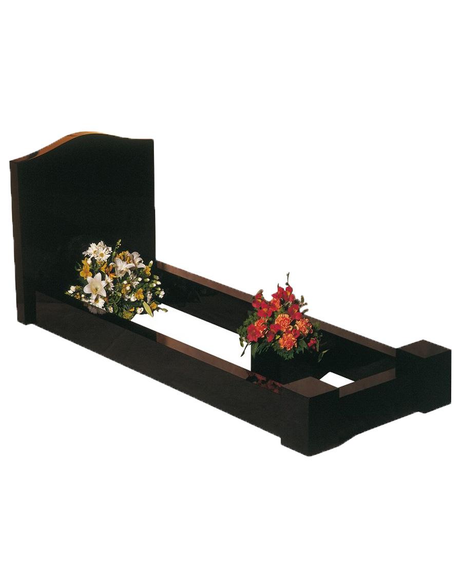 Black Ogee Kerb Set