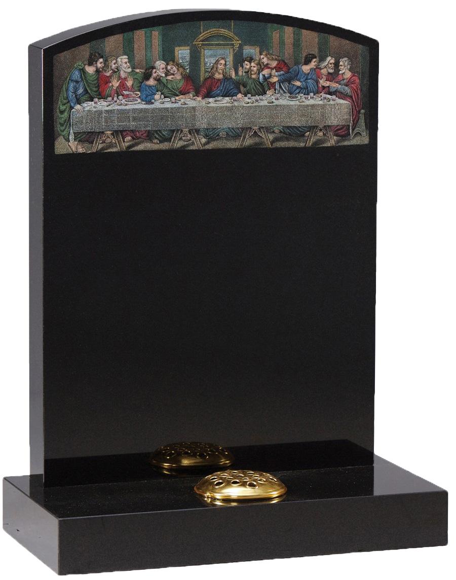 The Last Supper Headstone