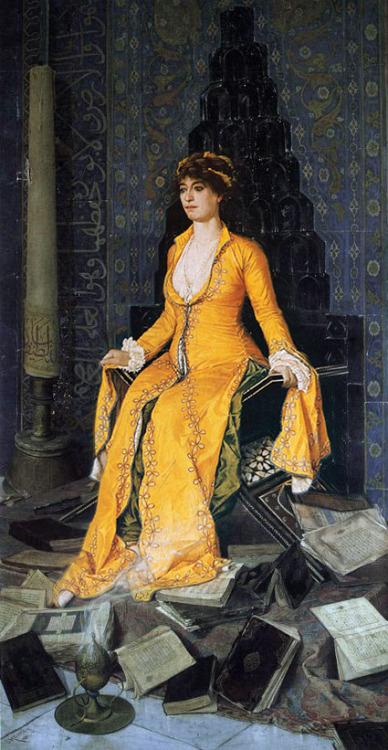 """""""Mihrap"""" by Osman Hamdi Bey, -1903"""