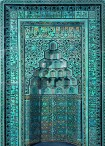Mihrab from the Beyhekim Mosque, Turkey